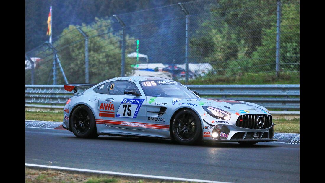 24h-Rennen Nürburgring 2018 - Nordschleife - Startnummer #75 - Mercedes-AMG GT4 - Avia Racing - SP10