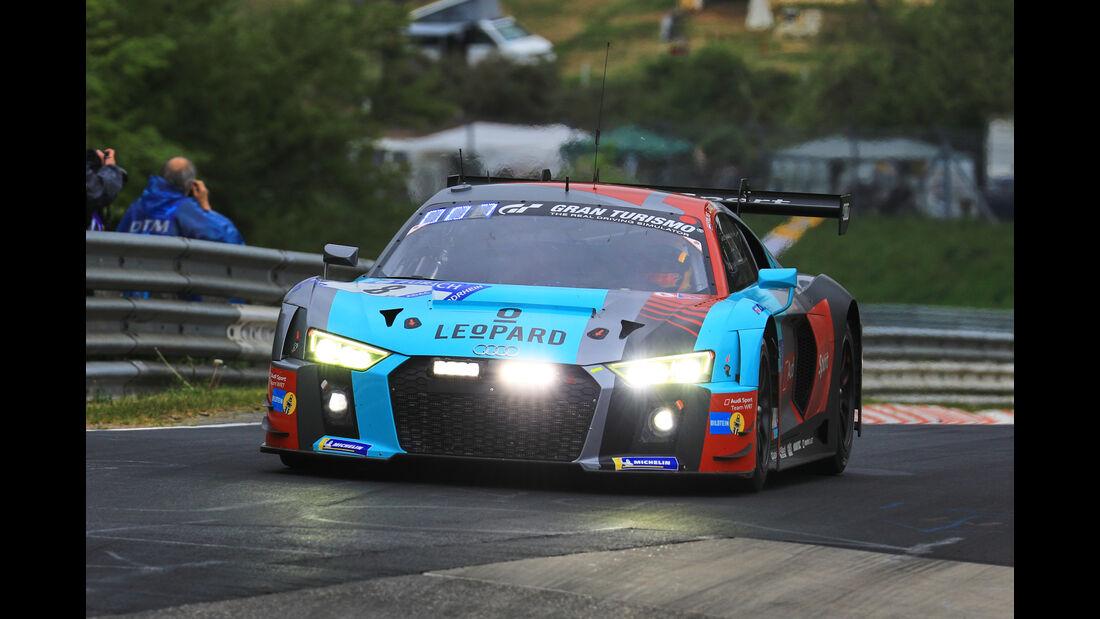 24h-Rennen Nürburgring 2018 - Nordschleife - Startnummer #8 - Audi R8 LMS - Audi Sport Team WRT - SP9
