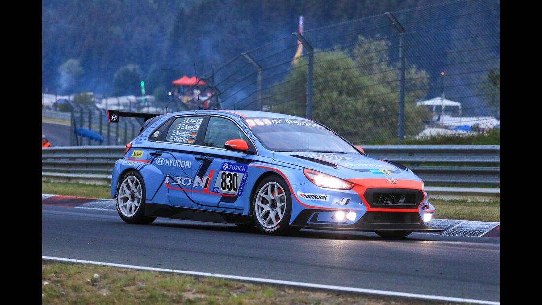 24h-Rennen Nürburgring 2018 - Nordschleife - Startnummer #830 - Hyundai i30N TCR - Hyundai Motorsport N - TCR