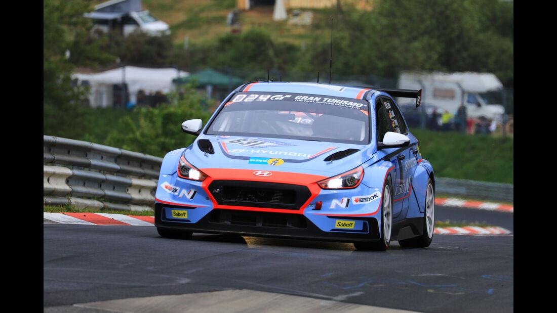 24h-Rennen Nürburgring 2018 - Nordschleife - Startnummer #831 - Hyundai i30N TCR - Hyundai Motorsport N - TCR