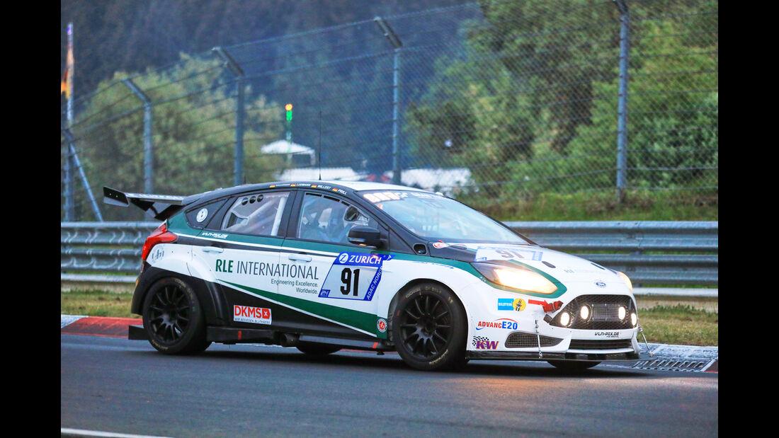 24h-Rennen Nürburgring 2018 - Nordschleife - Startnummer #91 - Ford Focus - RLE International - AT