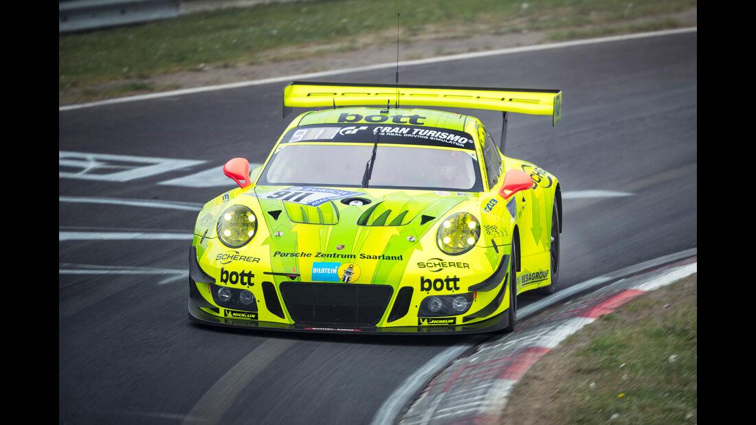 24h-Rennen Nürburgring 2018 - Nordschleife - Startnummer #911 - Porsche 911 GT3 R - Manthey Racing - SP9