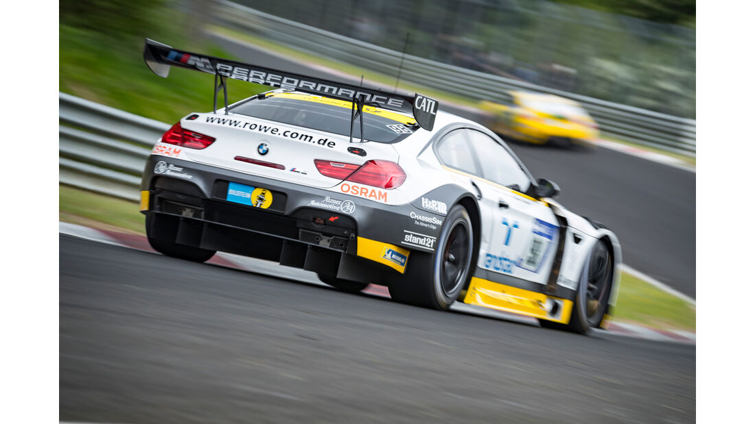24h-Rennen Nürburgring 2018 - Nordschleife - Startnummer #98 - BMW M6 GT3 - Rowe Racing - SP9