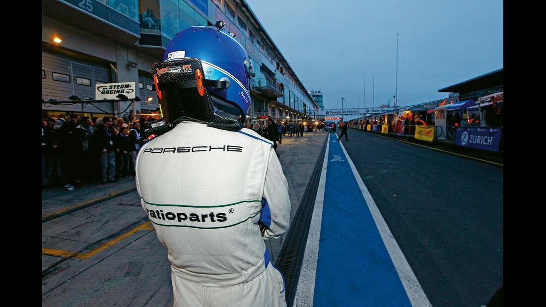 24h-Rennen Nürburgring, Boxengasse