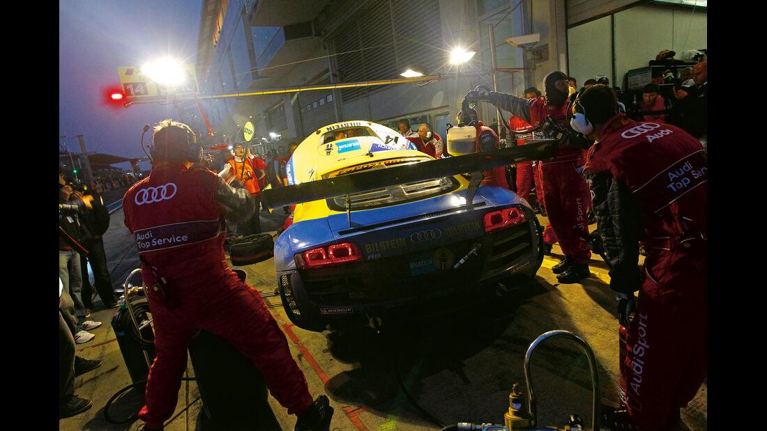 24h-Rennen Nürburgring, Boxenstopp, Audi