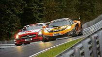 24h-Rennen Nürburgring, McLaren, Dörr und Gembala