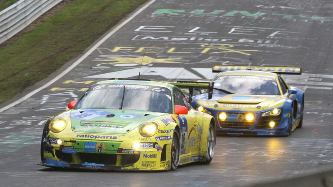 24h Rennen Nürburgring Sonntag Manthey