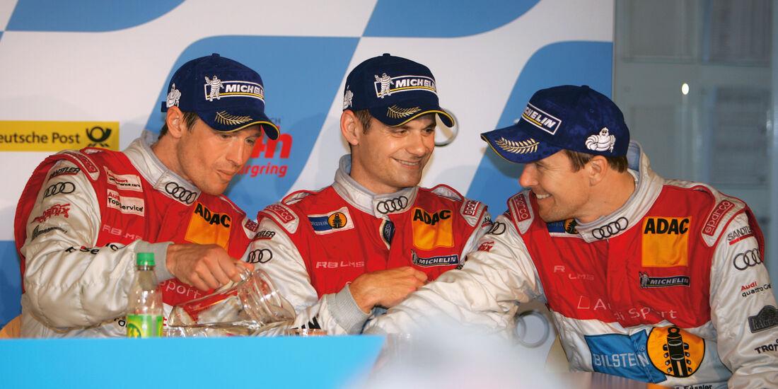 24h-Rennen Nürburgring, Stippler, Basseng, Fässler
