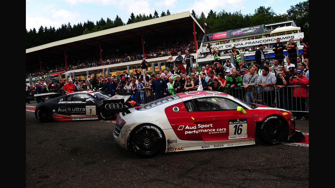24h-Rennen Spa Francorchamps 2012