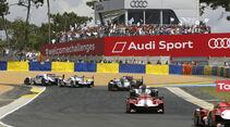 24h-Rennen von Le Mans 2014 - Startphase - Toyota - Audi - Porsche - LMP1