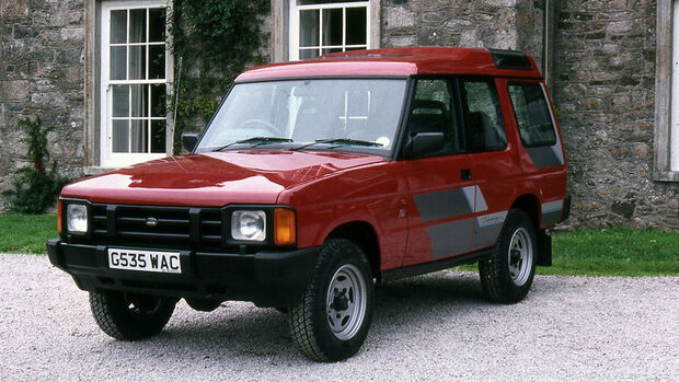 25 Jahre Land Rover Discovery, Discovery I
