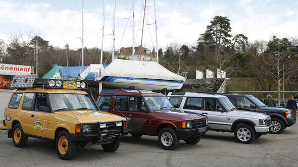 25 Jahre Land Rover Discovery