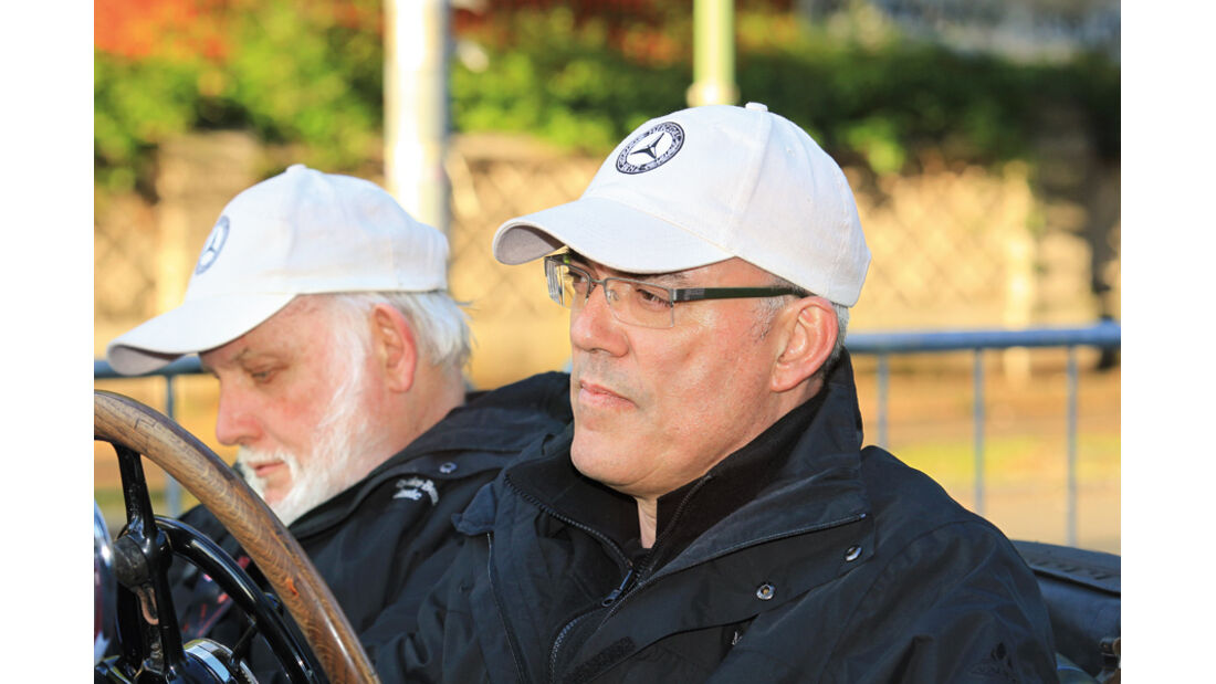 28. Mille Miglia storico Michael Bock Doug Nye