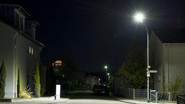 3/2019, LED Strassenlaterne