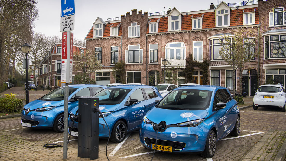 3/2019, Renault Zoe Vehicle-to-Grid