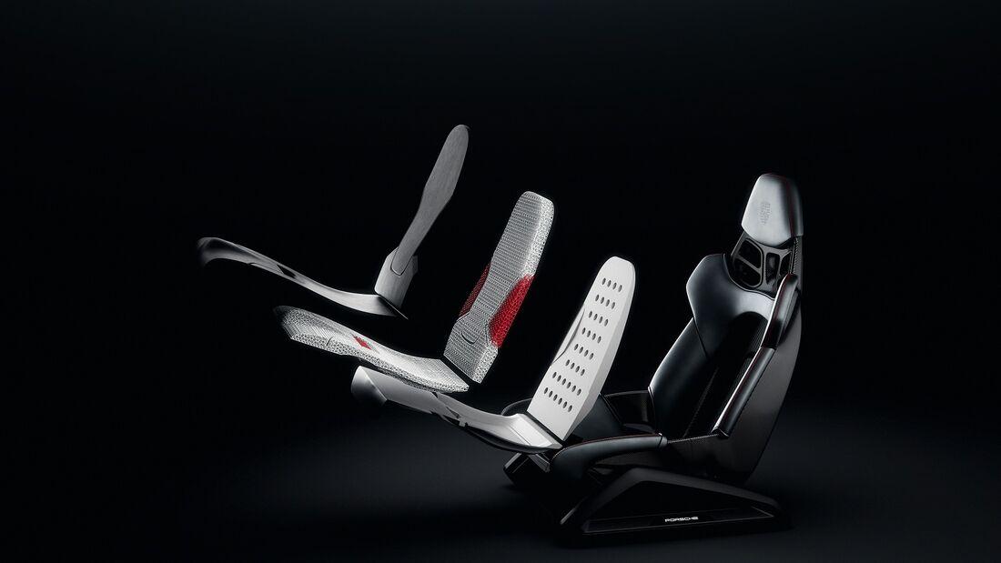 3/2020, Porsche Sitz 3D-Druck
