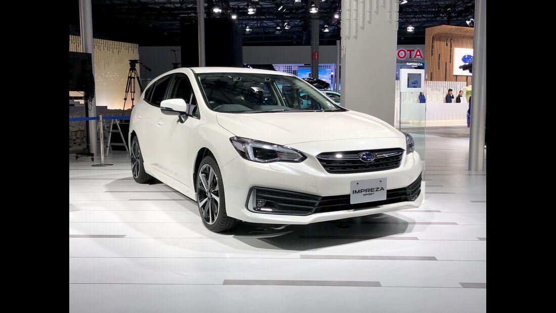 3/2020, Subaru Impreza Facelift