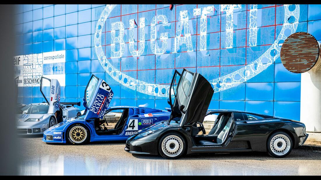 30 Jahre Bugatti EB 110