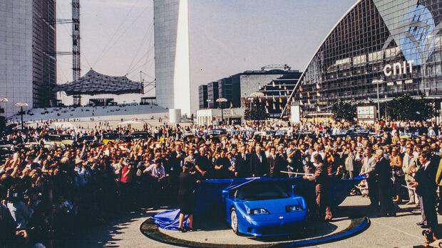 30 ans de la Bugatti EB 110