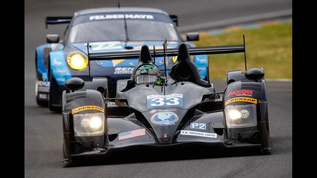 33-lmp2, 24h-Rennen LeMans 2012