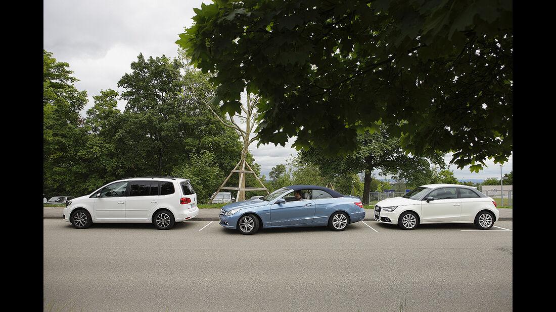 360 Grad Rundumsicht, Mercedes E-Klase Cabrio