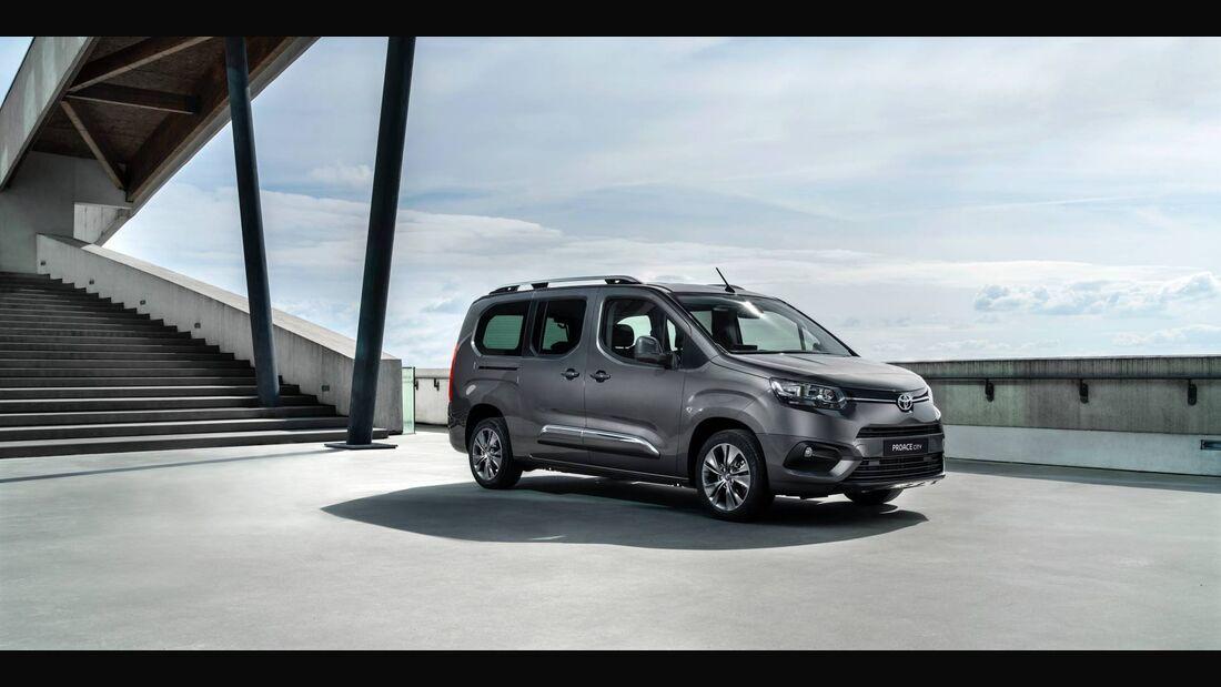 4/2019, Toyota Proace City 2020