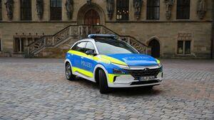 4/2020, Hyundai Nexo Streifenwagen