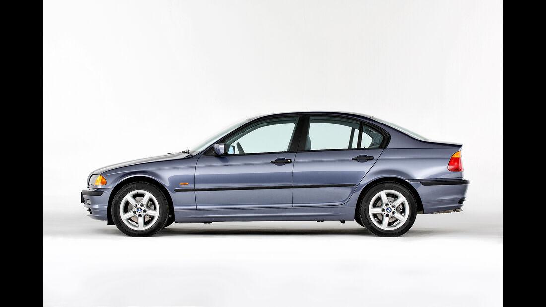40 Jahre BMW 3er - E21, E30, E36, E46, E90, F30
