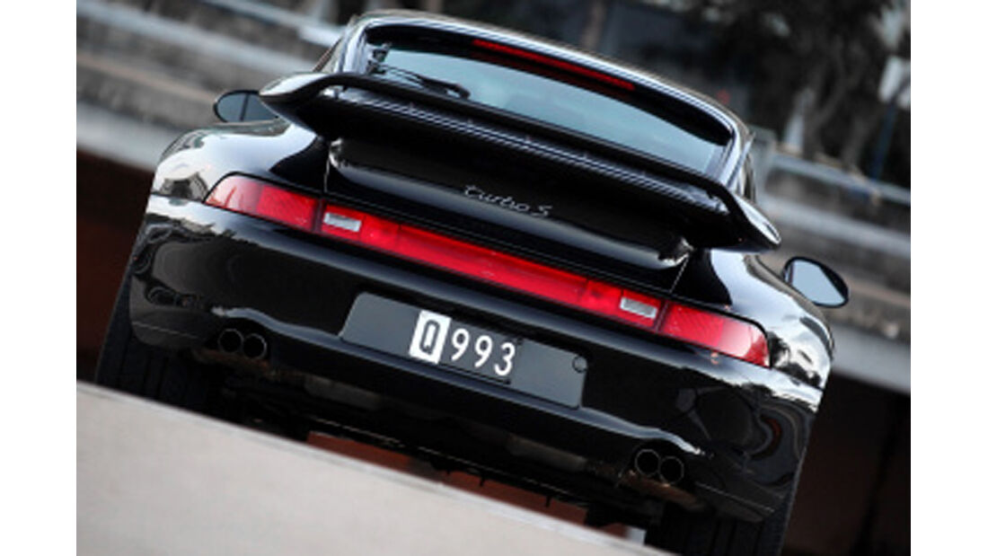 40 Jahre Porsche 911 Turbo, 993 Turbo