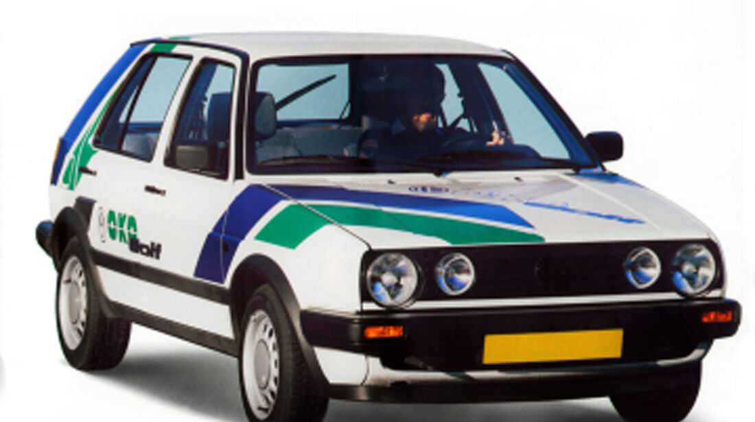 40 Jahre VW Golf, Öko Golf II