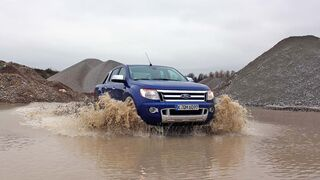 4Wheel-Fun Pickup-Vergleichstest 2014: der Ford Ranger