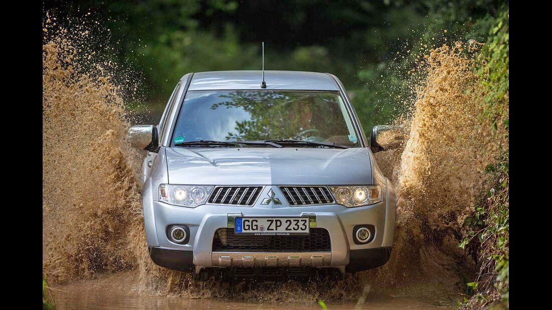 4Wheel-Fun Pickup-Vergleichstest 2014: der Mitsubishi L200