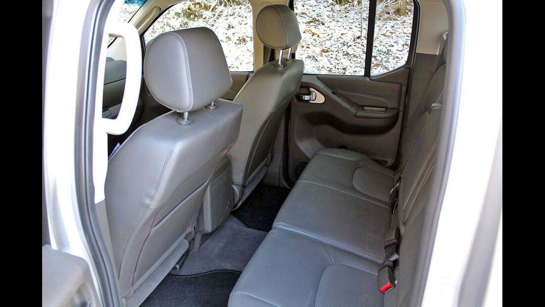 4Wheel-Fun Pickup-Vergleichstest 2014: der Nissan Navara