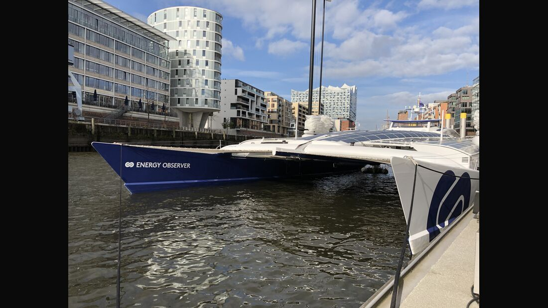 5/2019, Energy Observer Hamburger Hafen