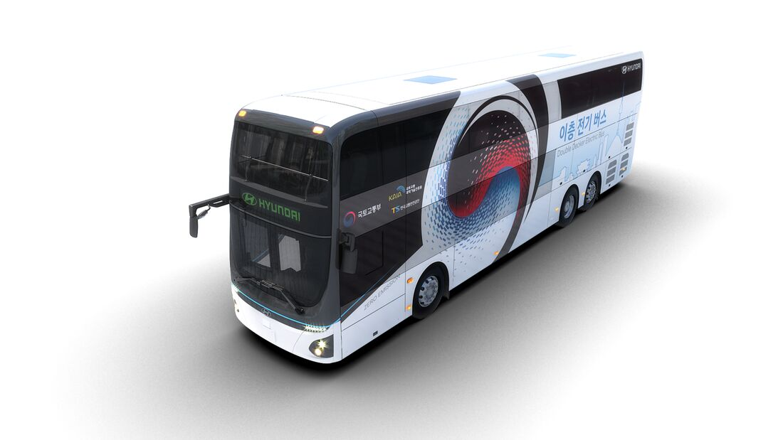 5/2019, Hyundai Elektro Doppeldeckerbus