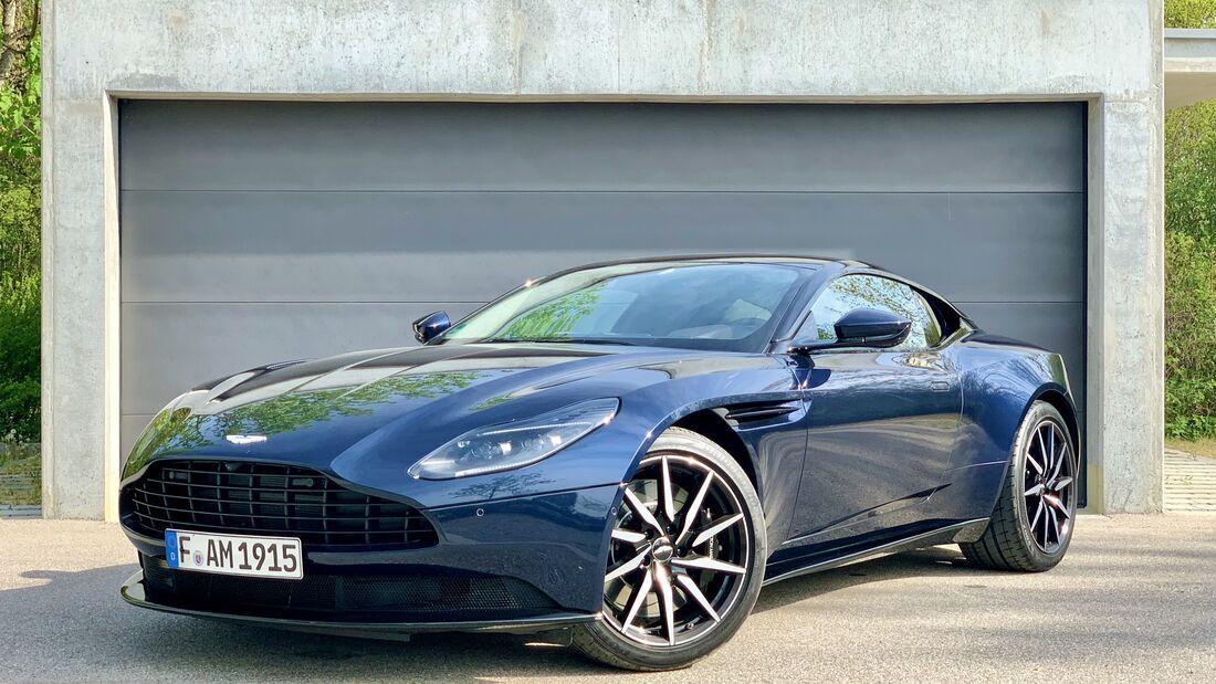 Aston Martin Db11 V8 Deutsches Herz Im Englischen Coupé Auto Motor Und Sport