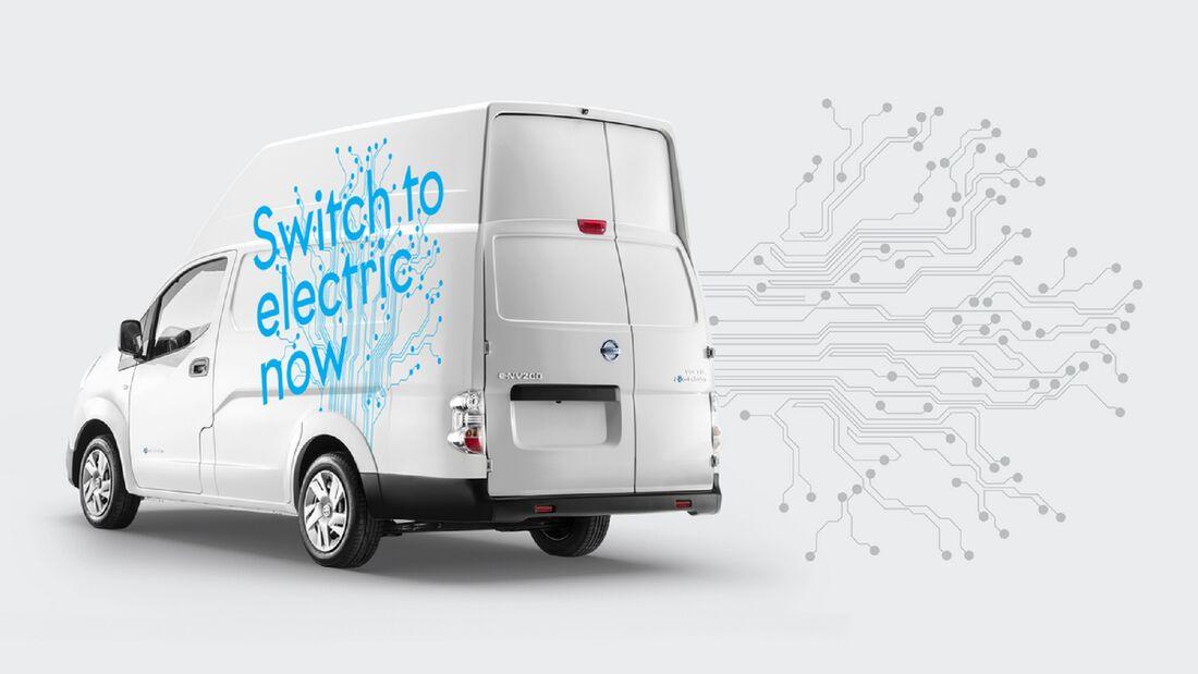 5/2020, Nissan e-NV200 XL Voltia