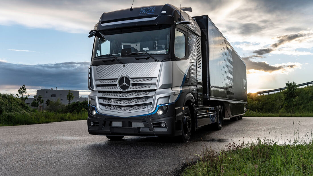 5/2021, Daimler H2 Lkw