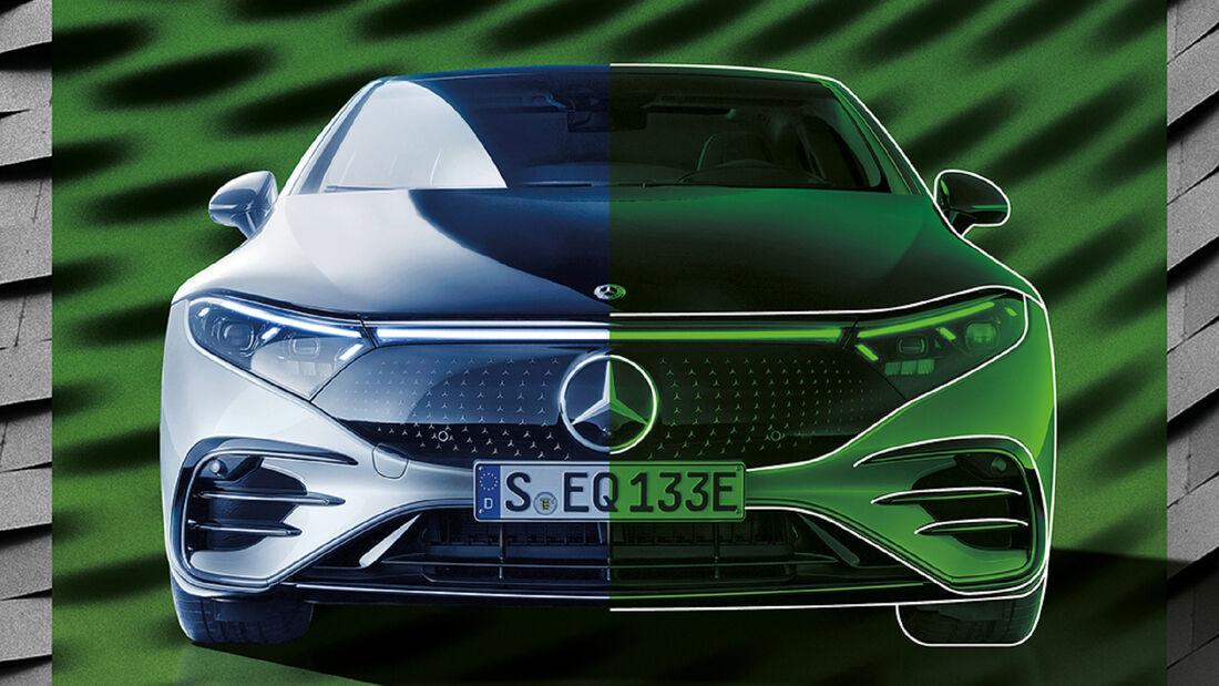 5/2021, Mercedes-Benz grüner Stahl