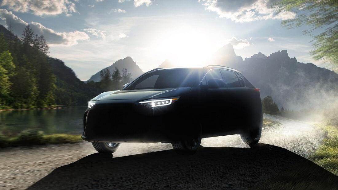 5/2021, Subaru Solterra Teaser