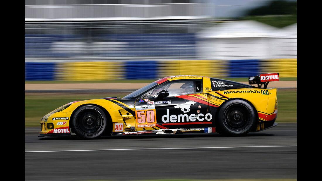 50-Am-GTE-Klasse, Chevrolet Corvette C6-ZR1, 24h-Rennen LeMans 2012