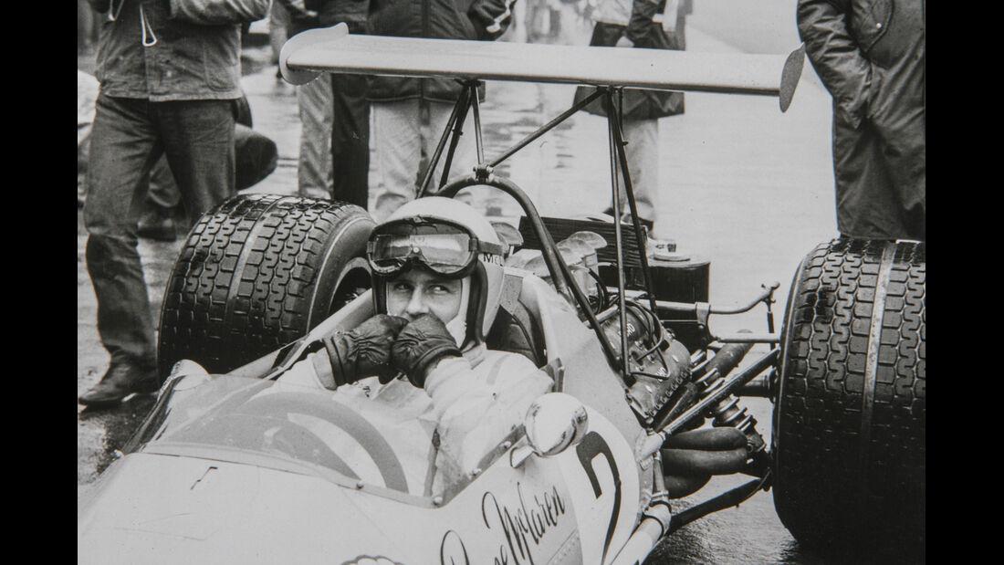 50 Jahre McLaren, Formel 1, Bruce McLaren