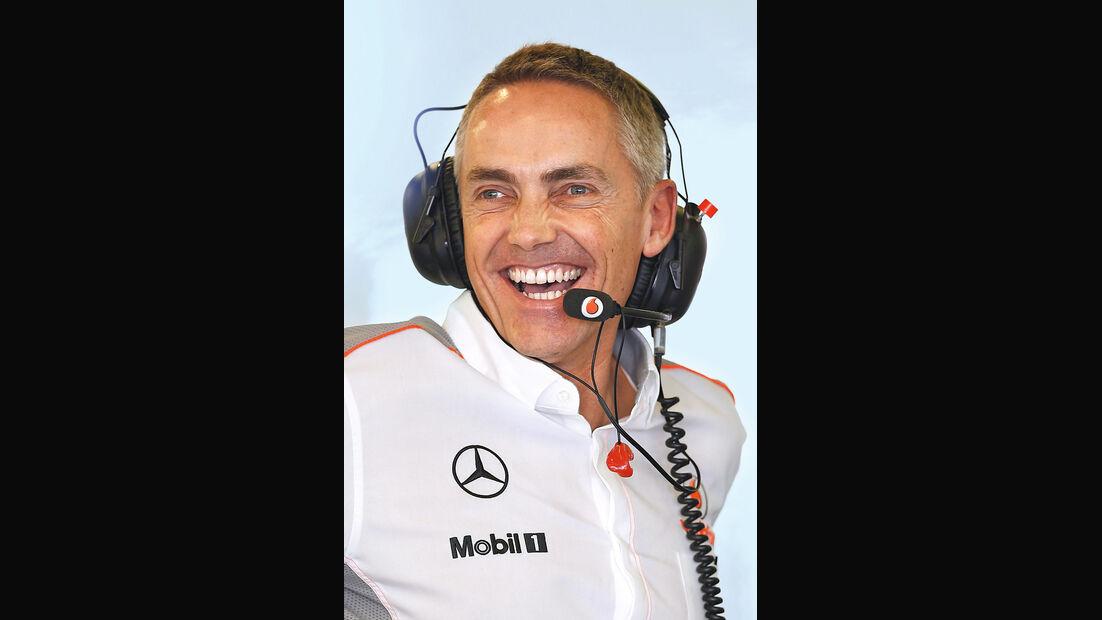 50 Jahre McLaren, Formel 1, Martin Whitmarsh