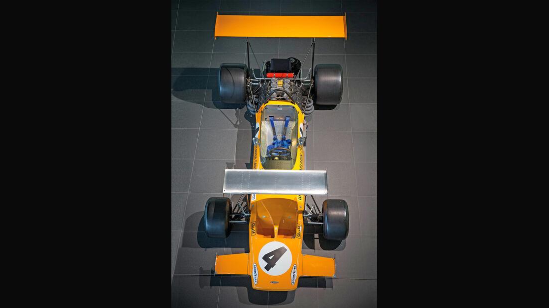 50 Jahre McLaren, Formel 1, McLaren M7A, Frontansicht