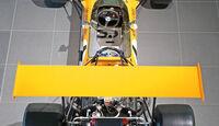50 Jahre McLaren, Formel 1, McLaren M7A, Heckansicht