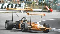 50 Jahre McLaren, Formel 1, McLaren M7A, Seitenansicht