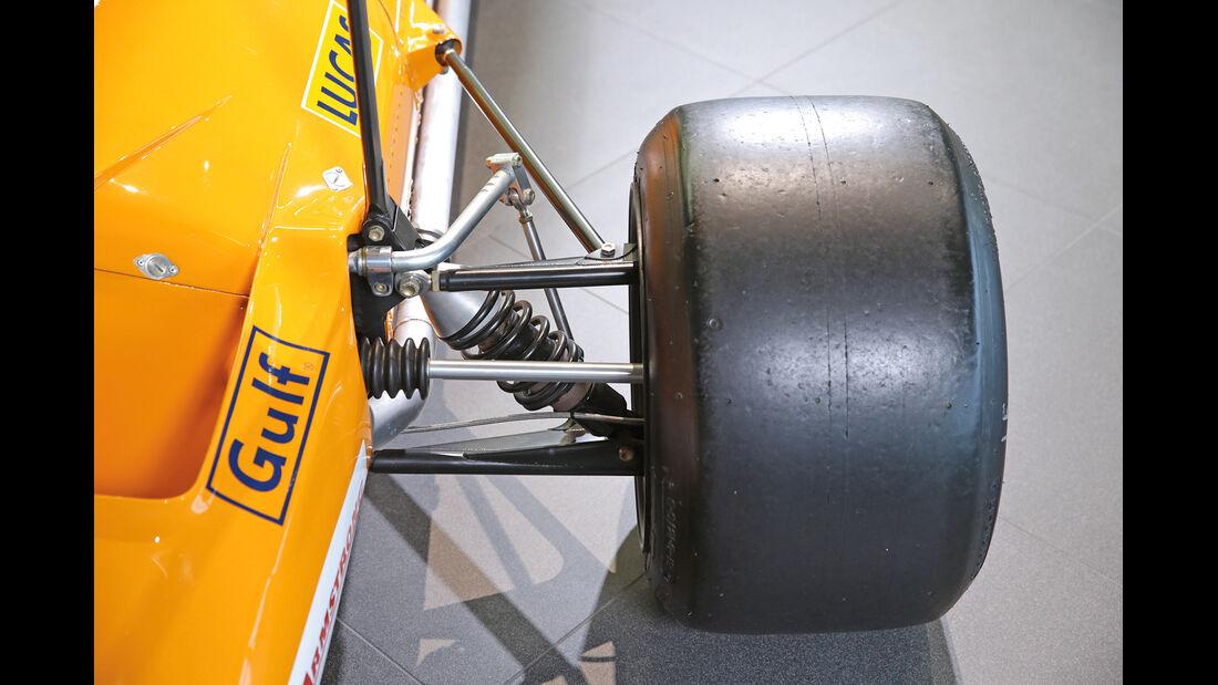 50 Jahre McLaren, Formel 1, McLaren M7A, Vorderache