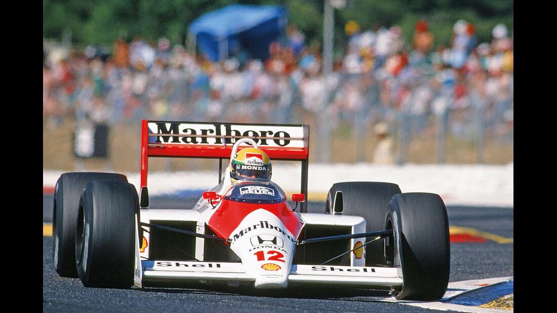 50 Jahre McLaren, Formel 1, McLaren MP4-4, Frontansicht