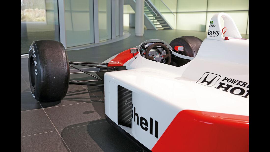 50 Jahre McLaren, Formel 1, McLaren MP4-4, Seitenführung