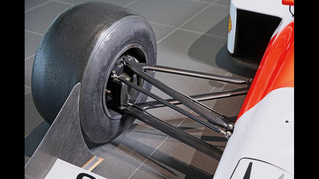50 Jahre McLaren, Formel 1, McLaren MP4-4, Vorderachse